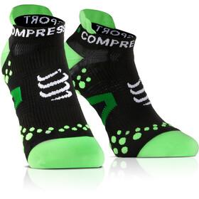Compressport Racing V2.1 Run Low Socks Black/Green